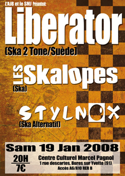 Les Skalopes - Liberator - Stylnox